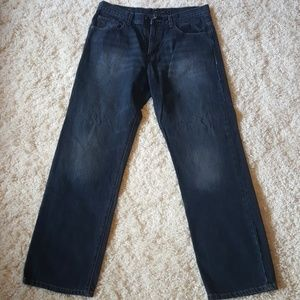 Men's Calvin Klein Relaxed Straight Fit Jeans